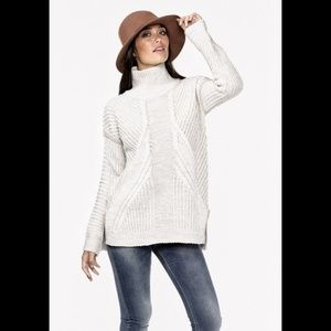 Lovestitch Birch Turtleneck Sweater M IMP-5947